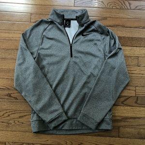 Nike Mens Dri-Fit Long-Sleeve 1/4-Zip Shirt SZ S